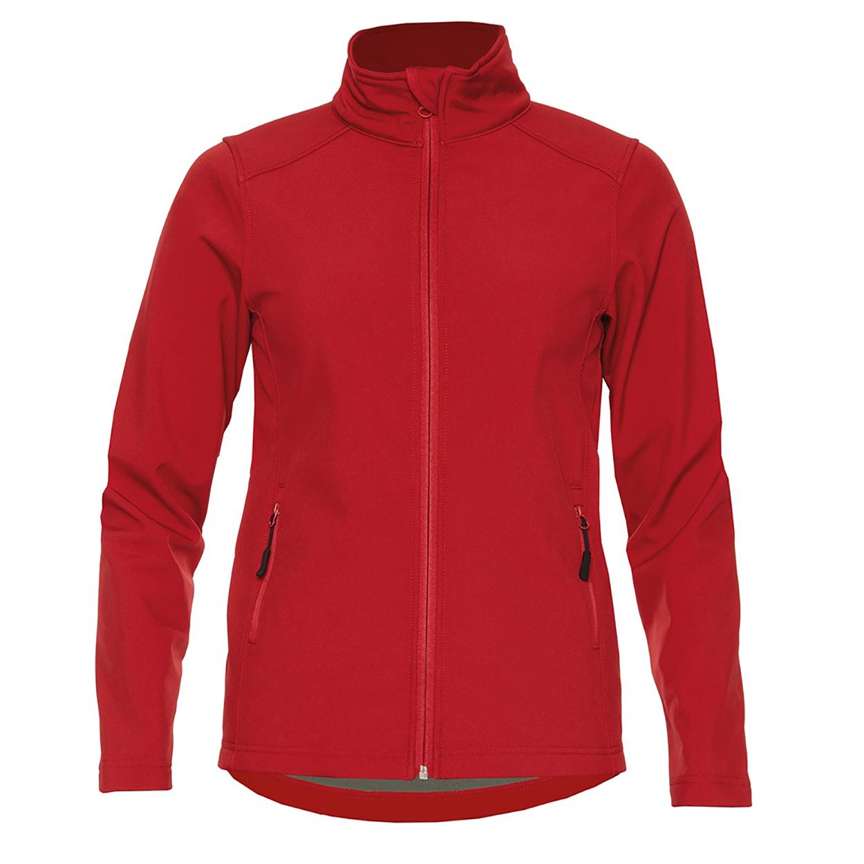 Gildan Womens/Ladies Hammer Soft Shell Jacket (XXL) (Red)