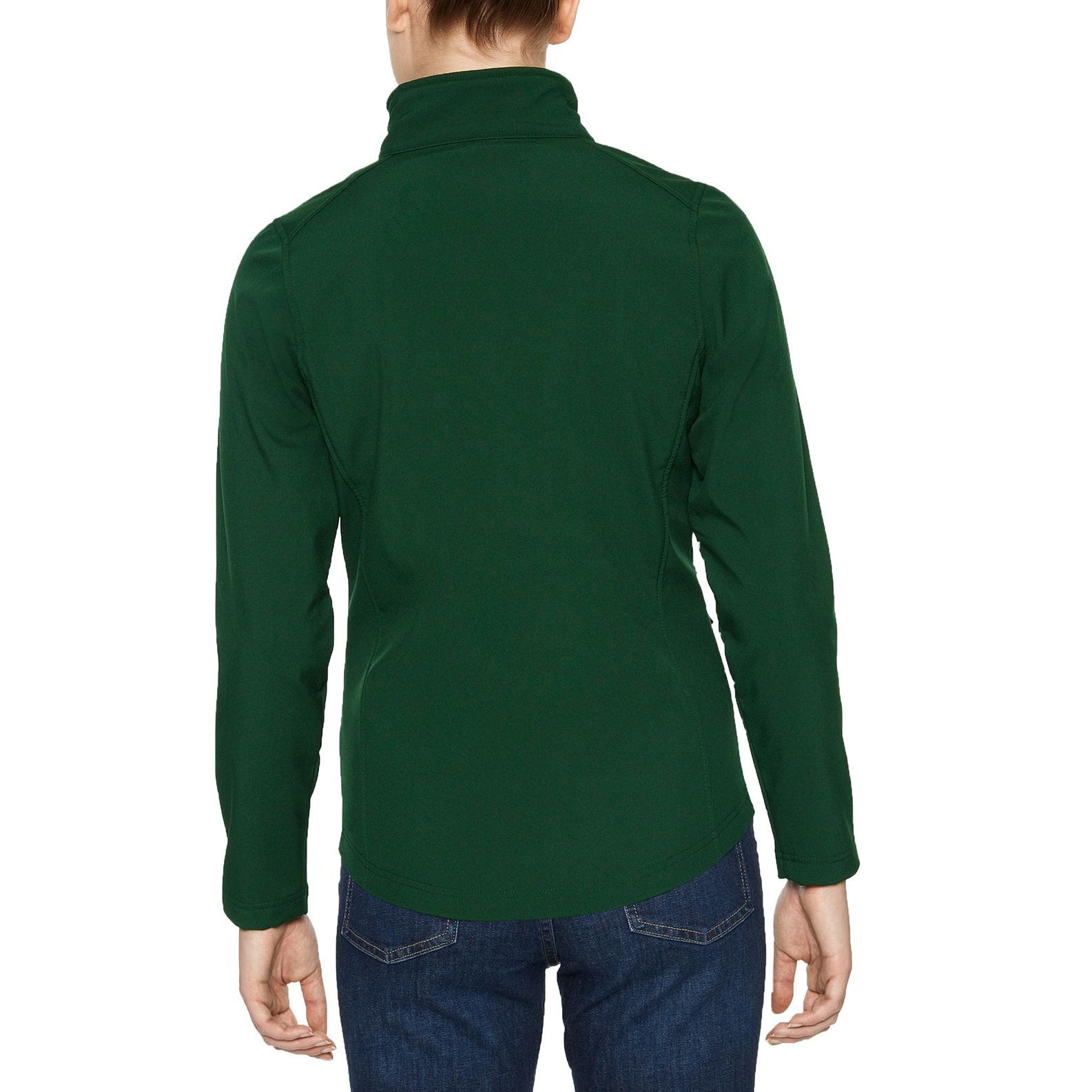 Gildan Womens/Ladies Hammer Soft Shell Jacket (3XL) (Forest Green)