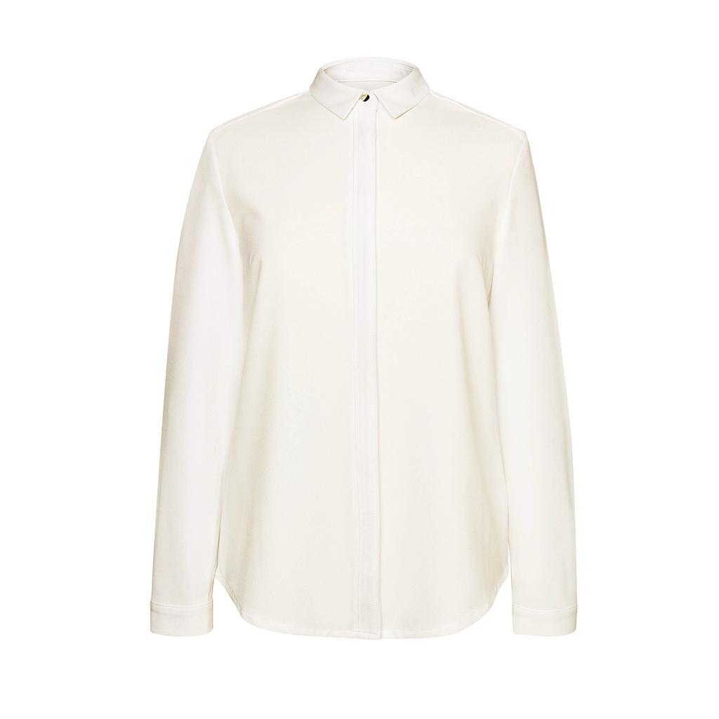 Brook Taverner Womens/Ladies Capri Long Sleeve Blouse (10 UK) (White)