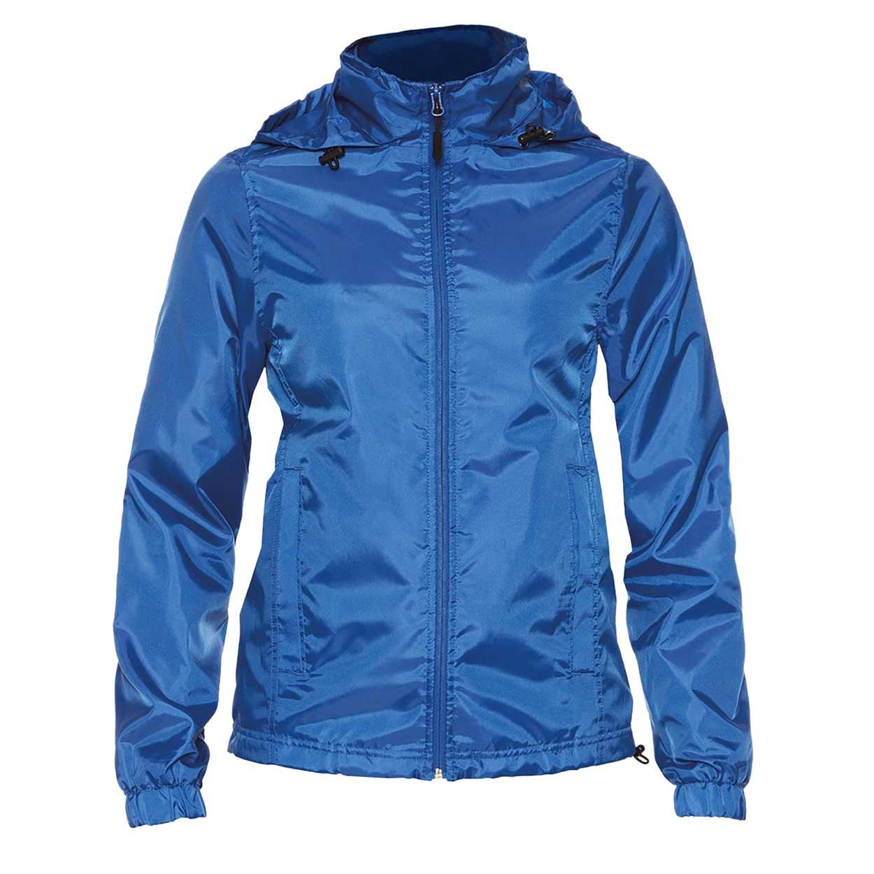 Gildan Womens/Ladies Hammer Windwear Jacket (M) (Royal Blue)