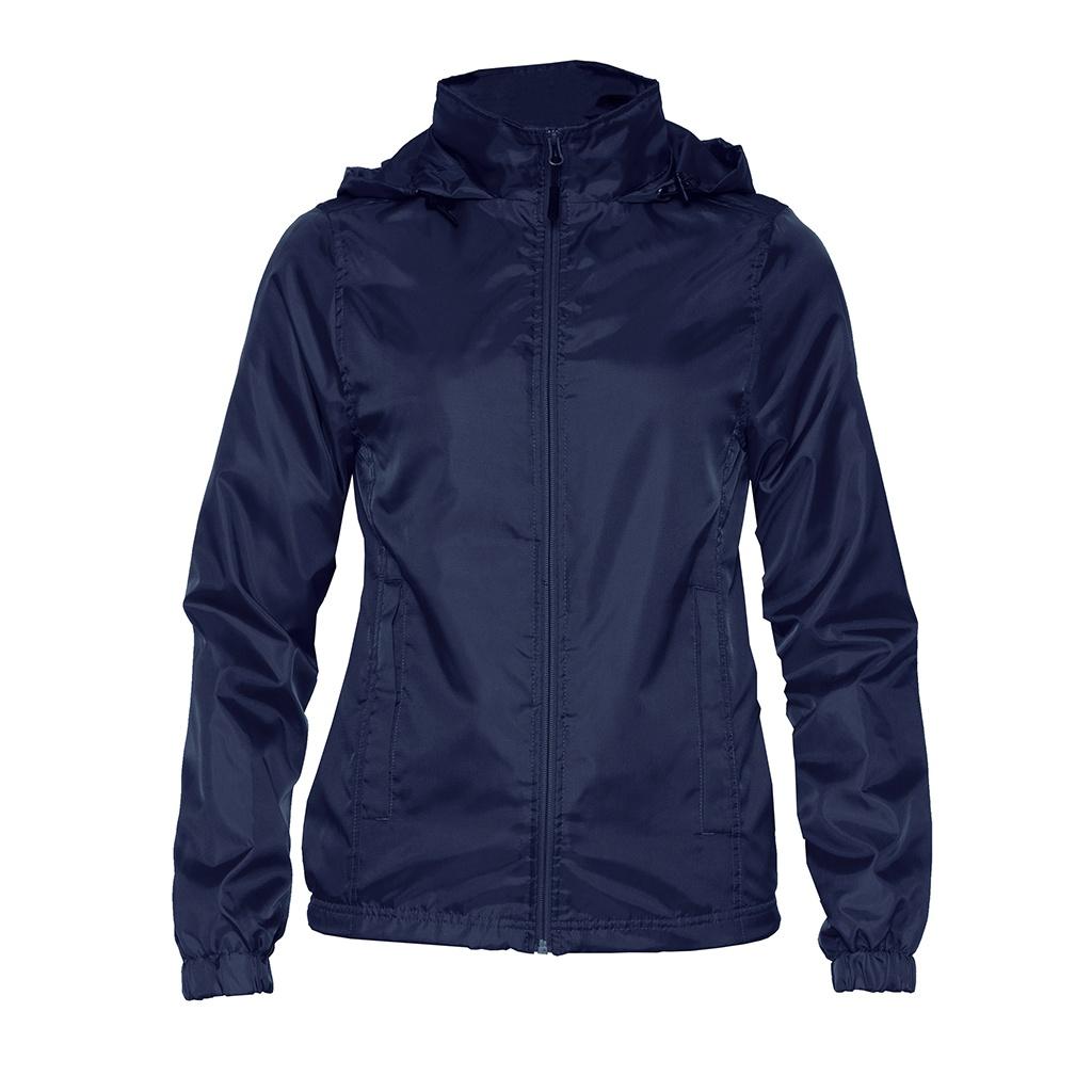 Gildan Womens/Ladies Hammer Windwear Jacket (XXL) (Navy)