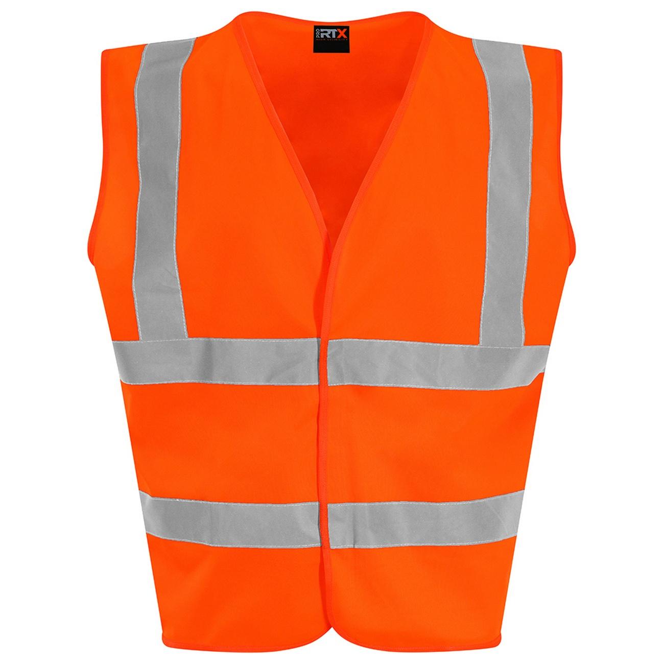 PRO RTX High Visibility Childrens/Kids Waistcoat (S) (Orange)