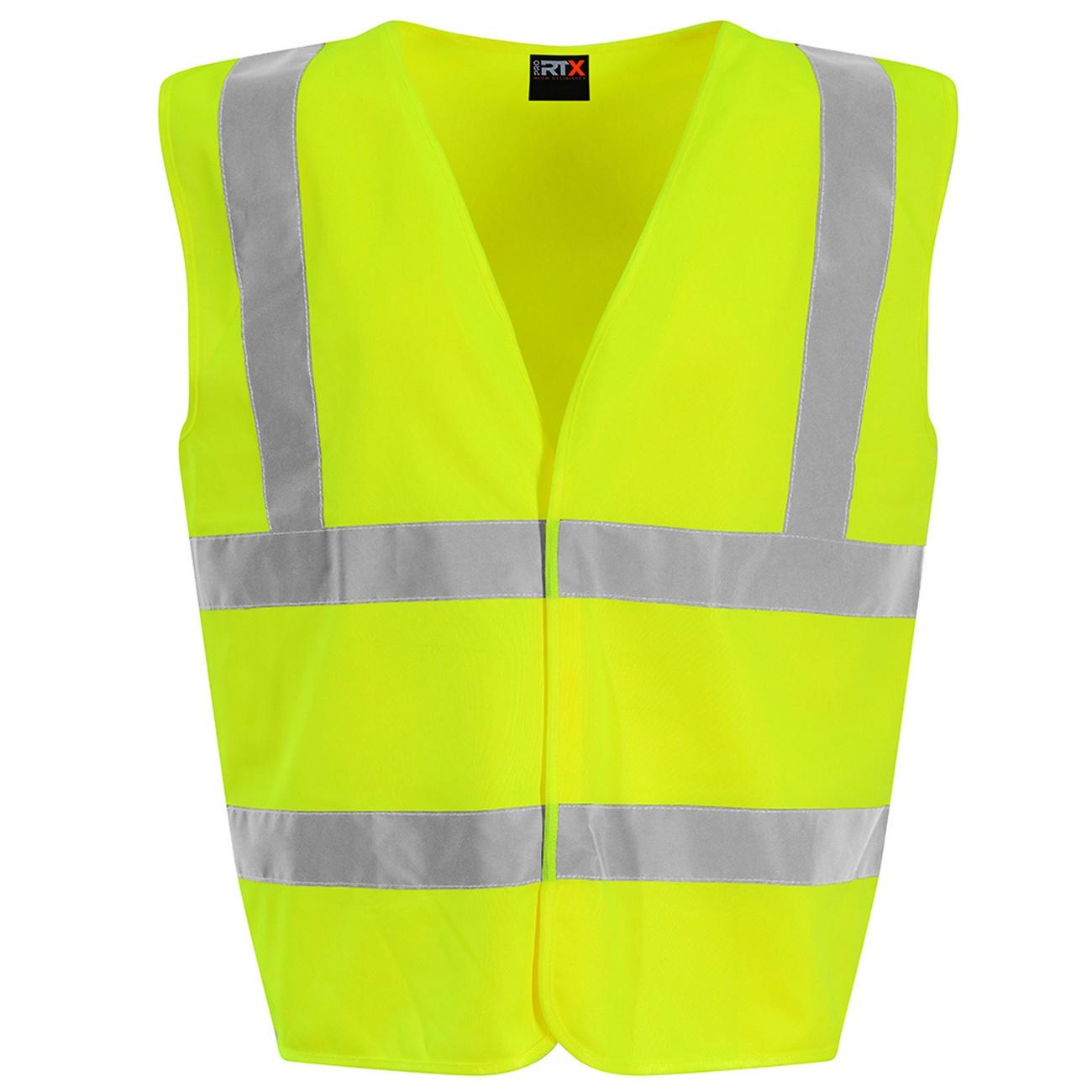 PRO RTX High Visibility Childrens/Kids Waistcoat (S) (Yellow)