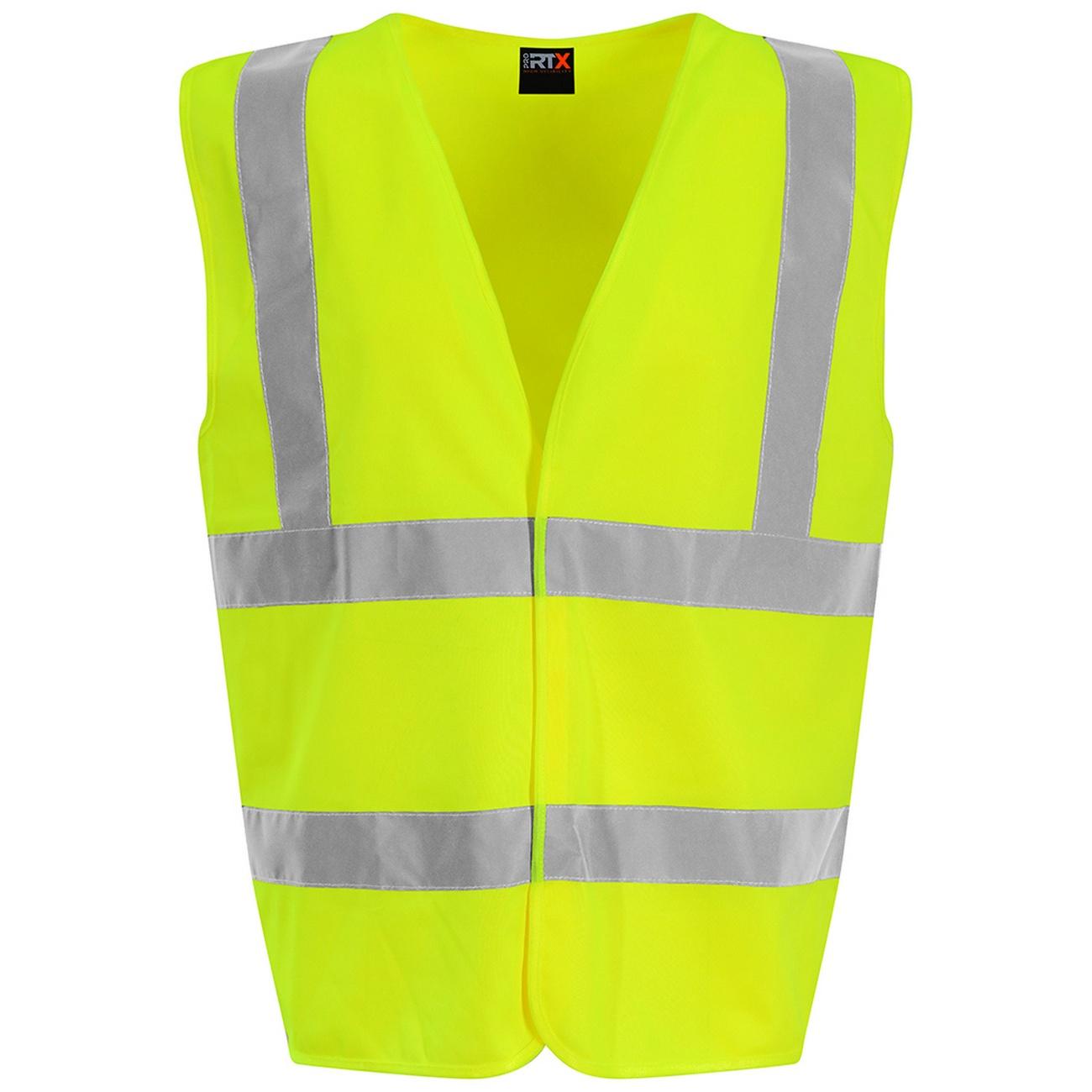 PRO RTX High Visibility Unisex Waistcoat (4XL) (Yellow)