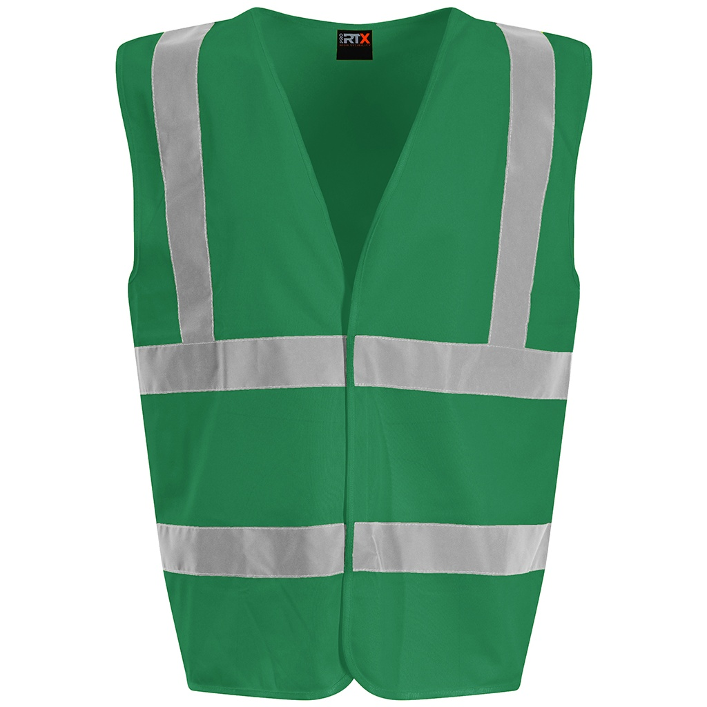 PRO RTX High Visibility Unisex Waistcoat (XL) (Kelly Green)