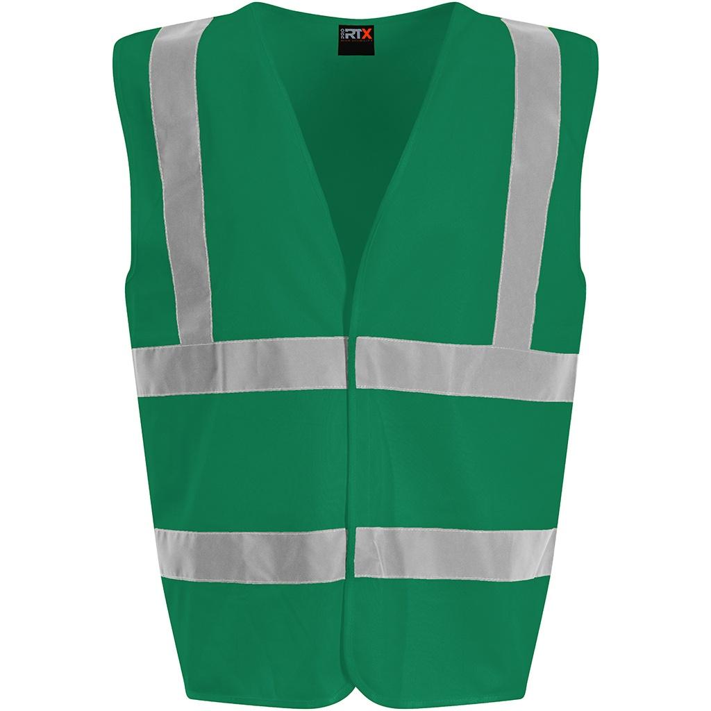PRO RTX High Visibility Unisex Waistcoat (XXL) (Paramedic Green)