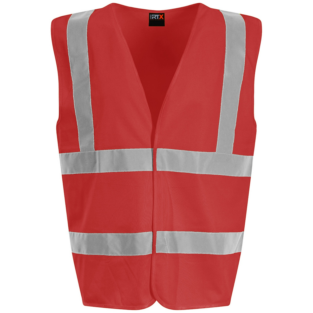 PRO RTX High Visibility Unisex Waistcoat (XL) (Red)