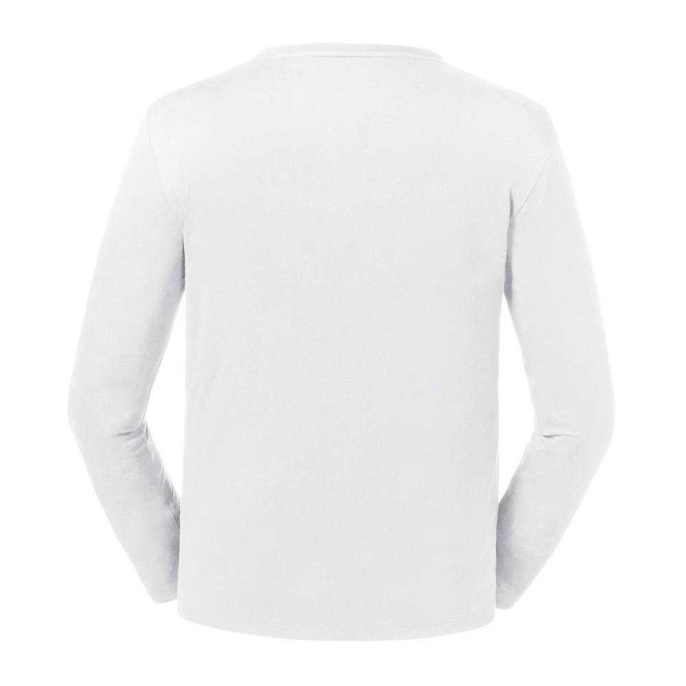 Russell Mens Pure Organic Long Sleeve T-Shirt PC4021