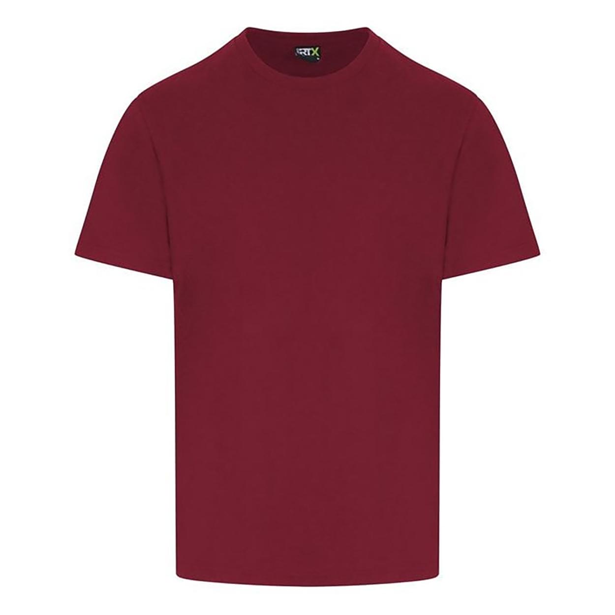 PRO RTX Mens Pro T-Shirt (4XL) (Burgundy)