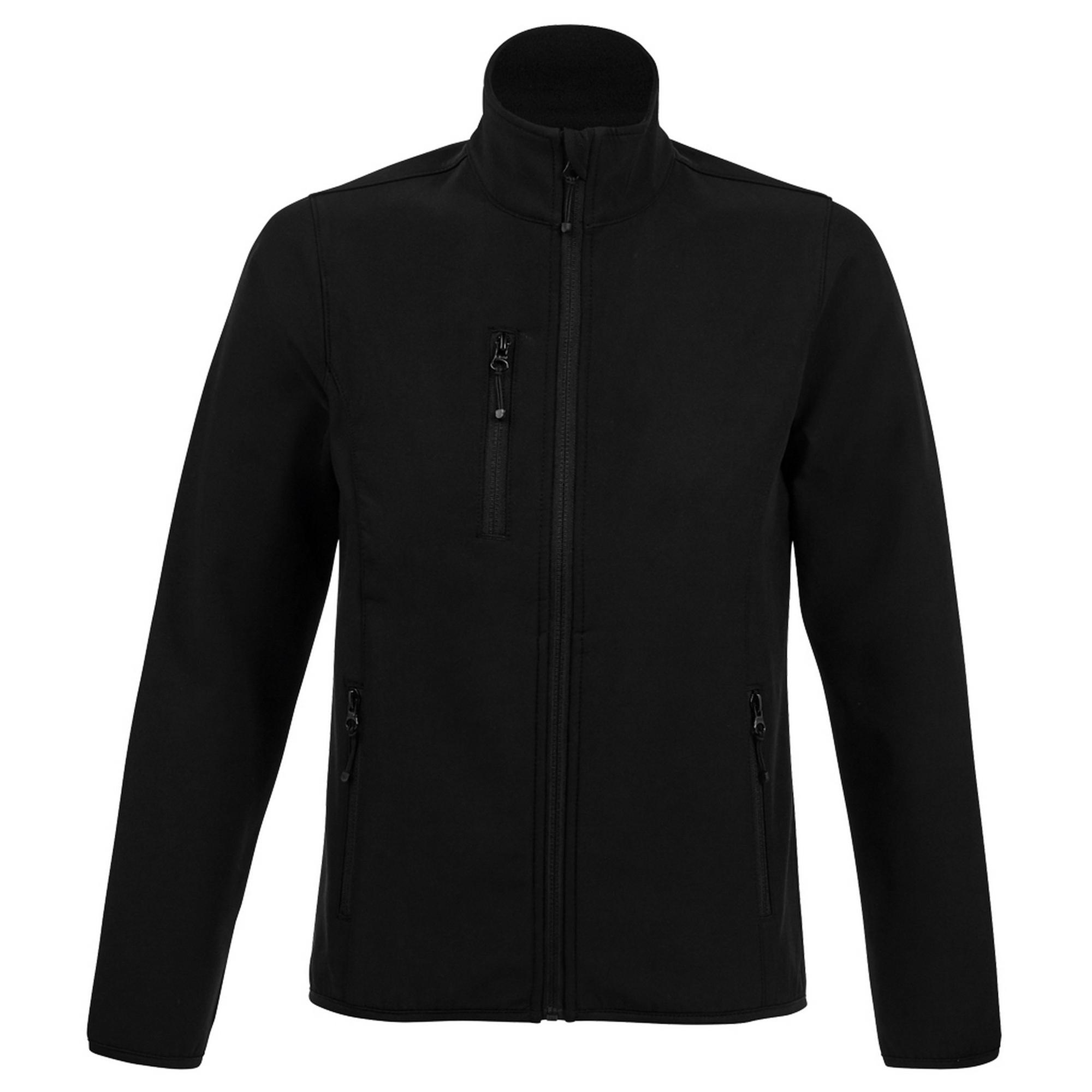 SOLS Womens/Ladies Radian Soft Shell Jacket (S) (Black)
