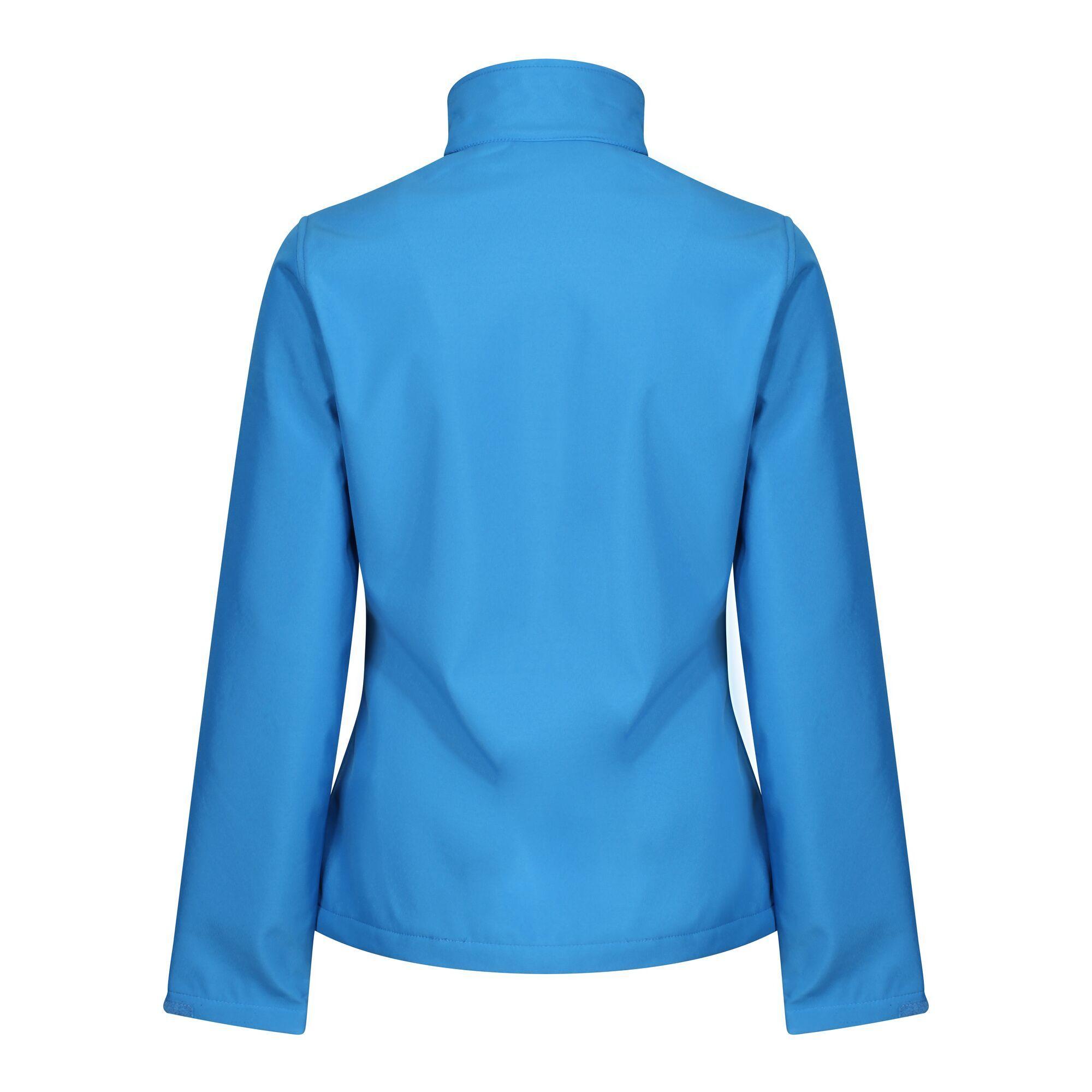 Regatta Womens/Ladies Ablaze Three Layer Soft Shell Jacket (20 UK) (French Blue/Navy)