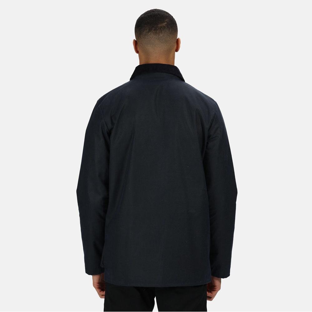 Regatta Mens Banbury Wax Jacket (S) (Dark Khaki)