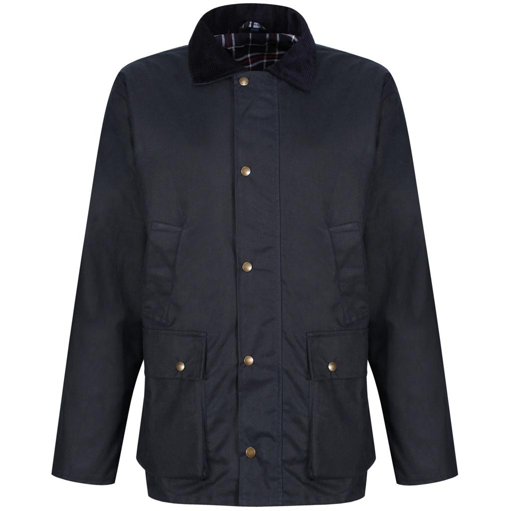 Regatta Mens Banbury Wax Jacket (XXL) (Navy)
