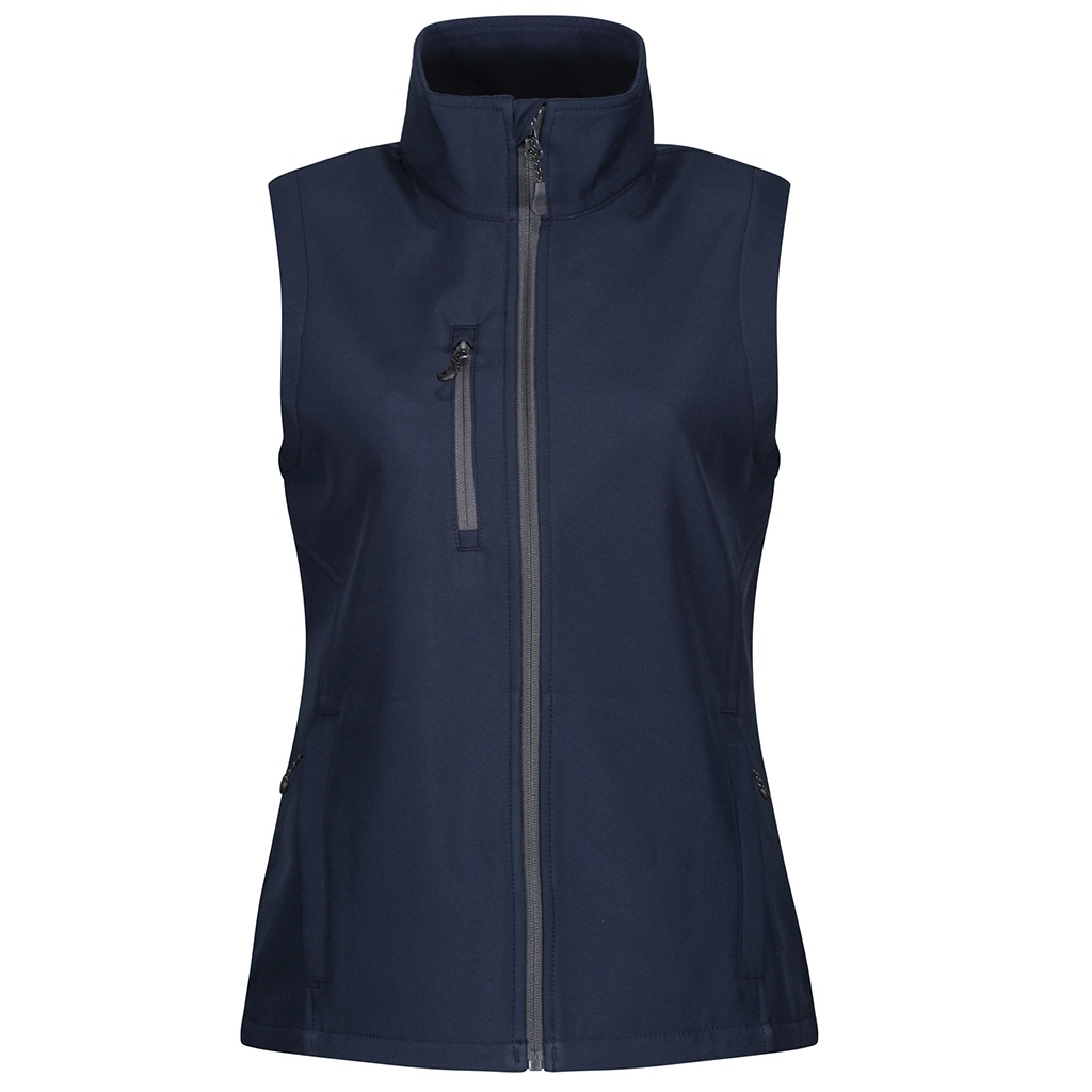 Regatta Womens/Ladies Honestly Made Softshell Recycled Body Warmer (14 UK) (Navy)