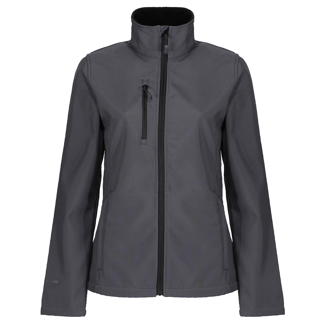 Regatta Womens/Ladies Honestly Made Recycled Soft Shell Jacket (20 UK) (Seal Grey)