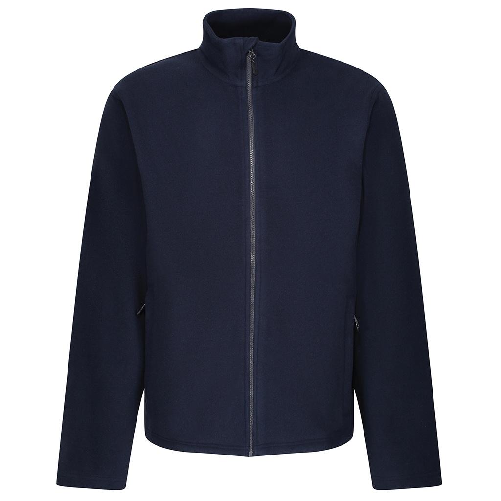 Regatta Mens Microfleece Recycled Jacket (XL) (Navy)