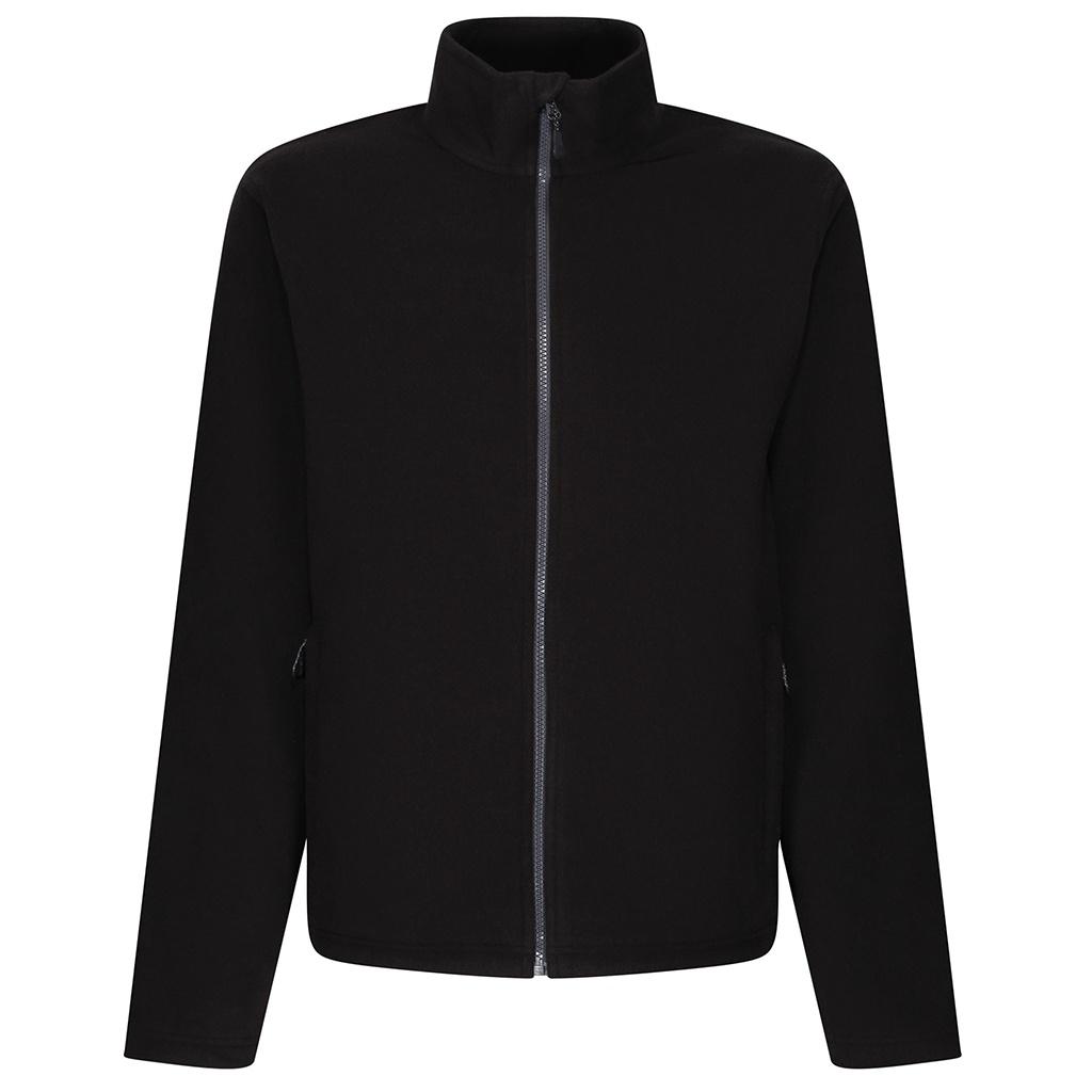 Regatta Mens Microfleece Recycled Jacket (S) (Black)