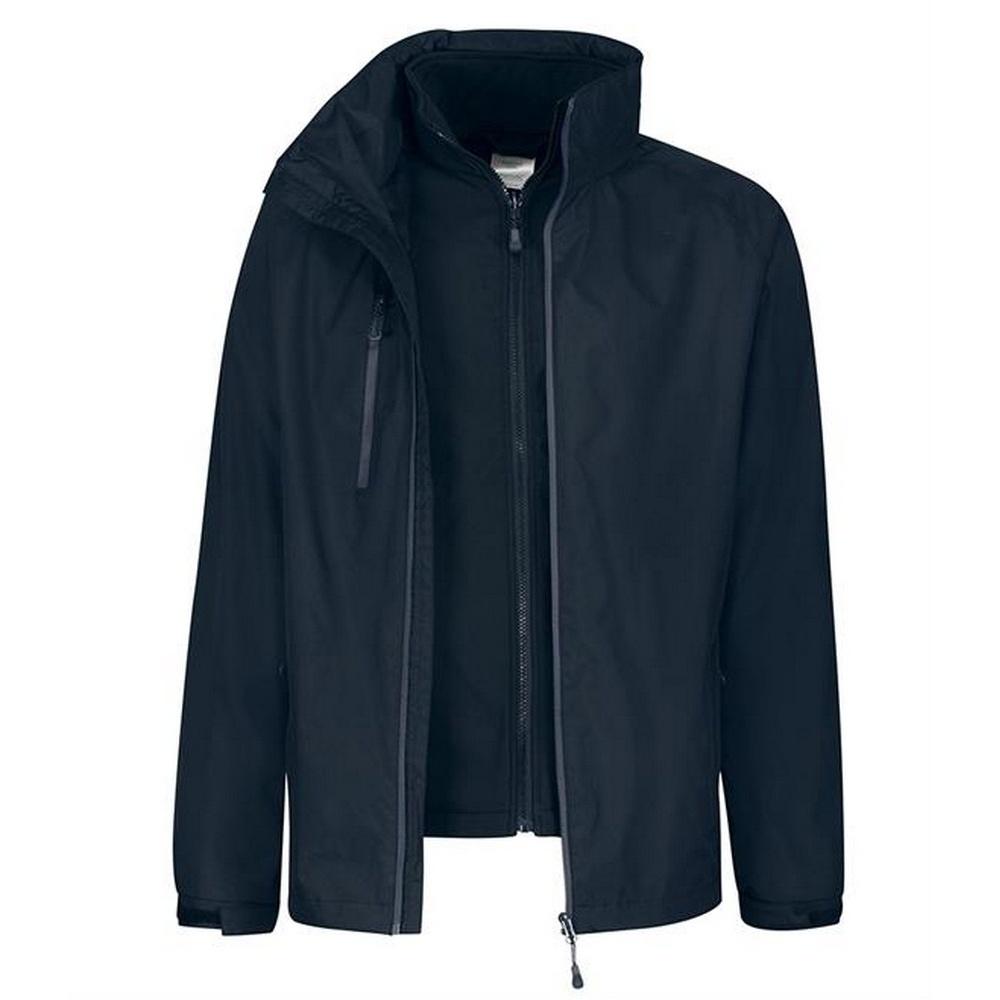 Regatta Mens Honestly Made Recycled Jacket (M) (Navy)
