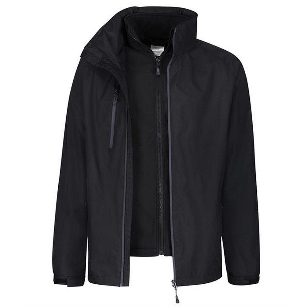 Regatta Mens Honestly Made Recycled Jacket (S) (Black)