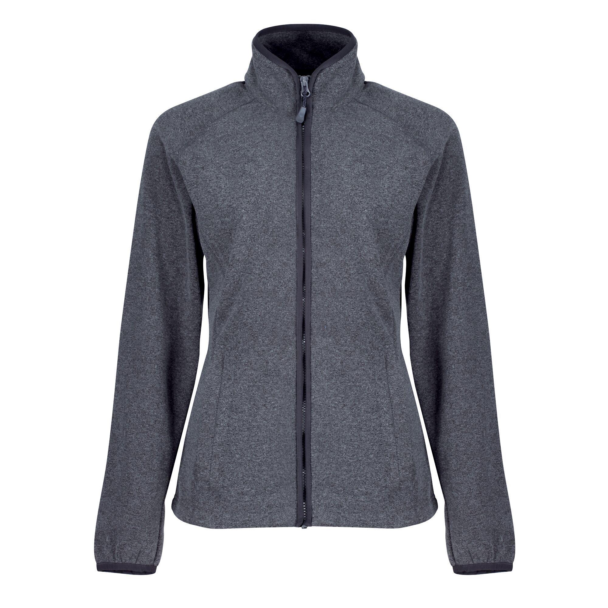 Regatta Womens/Ladies Salamba Marl Fleece Jacket (8 UK) (Grey)