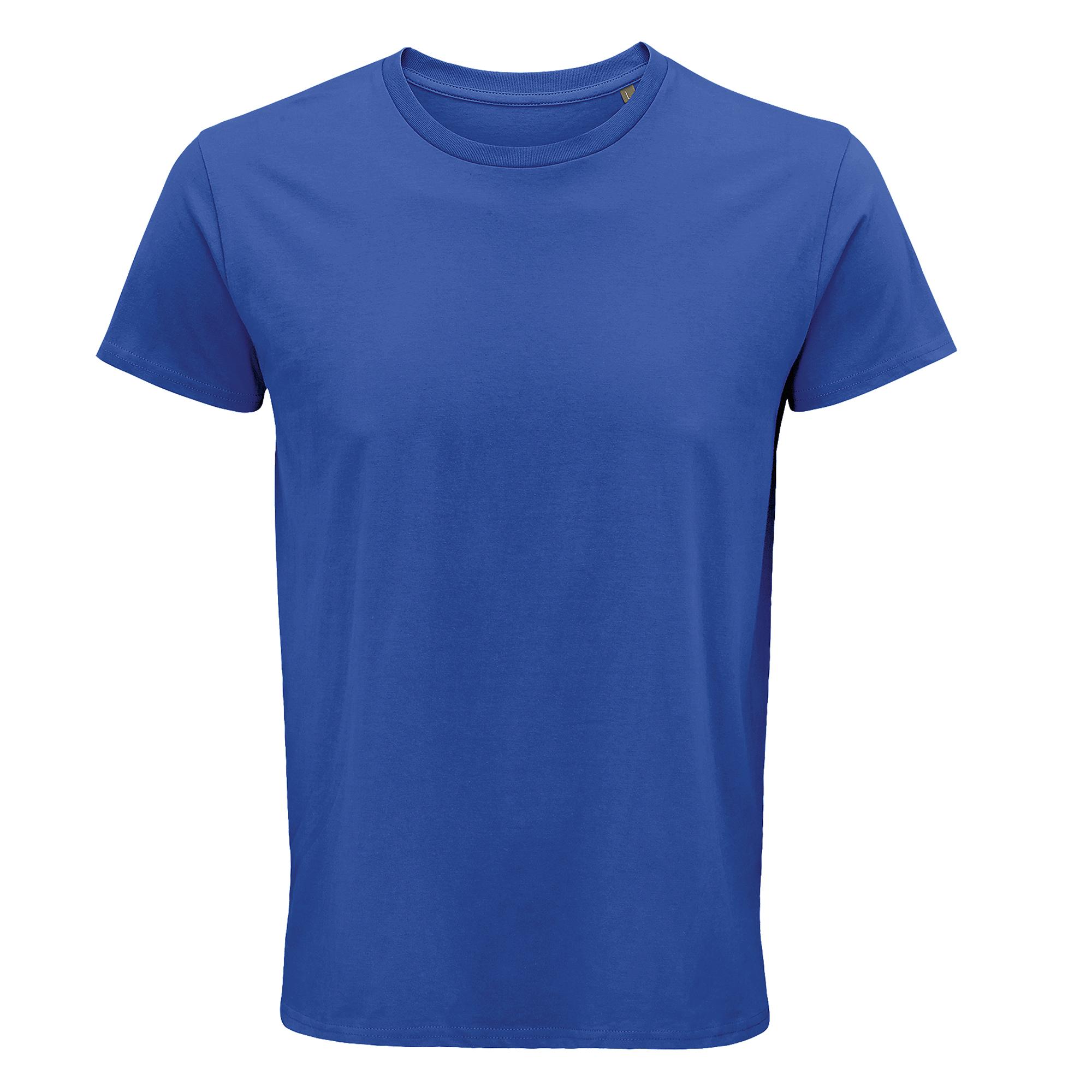 SOLS Mens Crusader Organic T-Shirt (3XL) (Royal Blue)