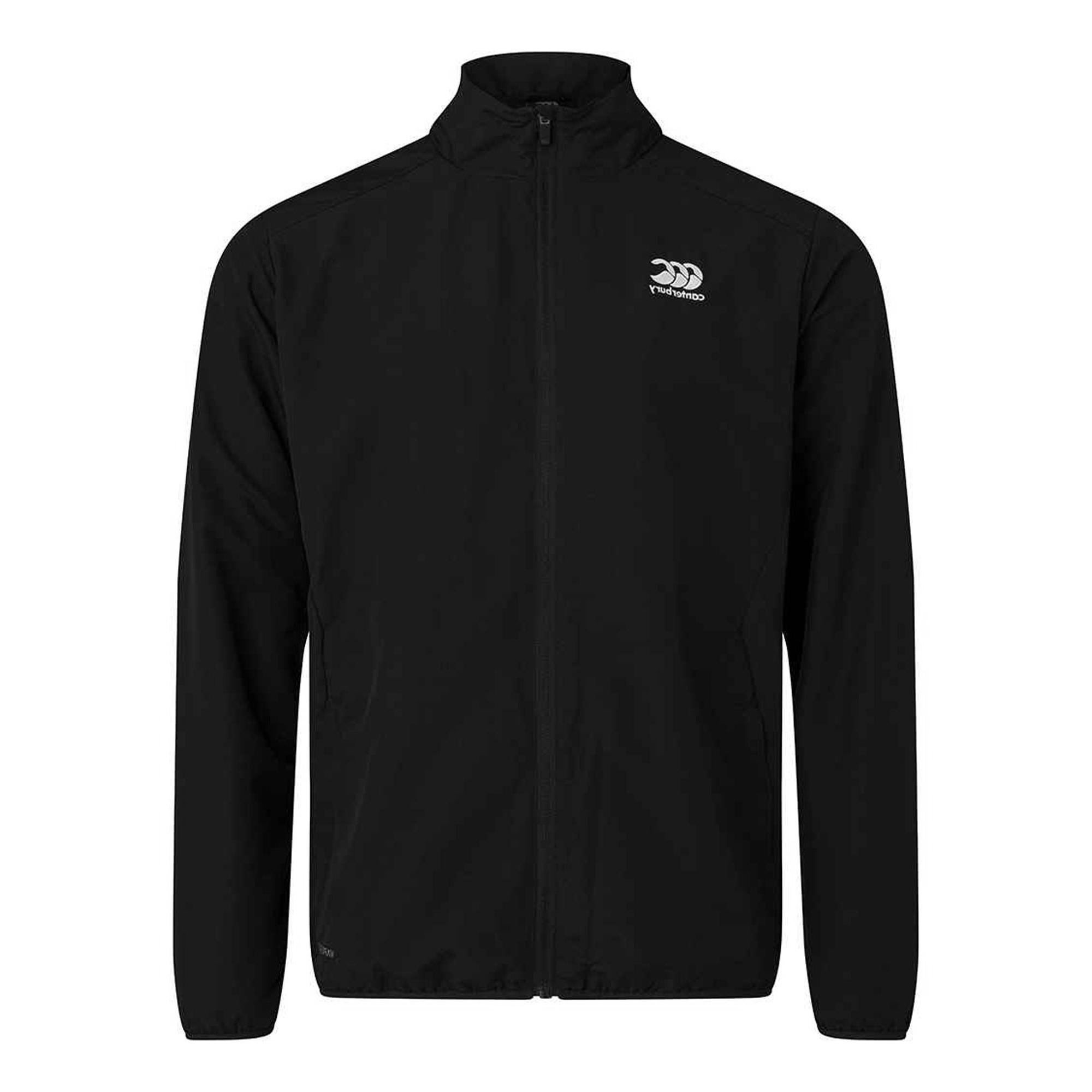 Canterbury Mens Club Track Jacket (3XL) (Black)