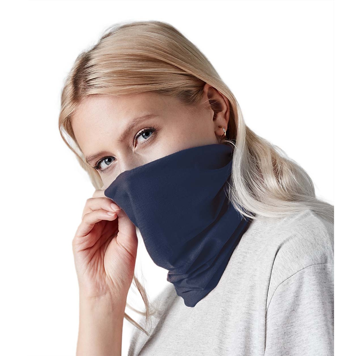 Beechfield Unisex Adult Morf Anti-Bacterial Snood (Pack of 3) (One Size) (White)