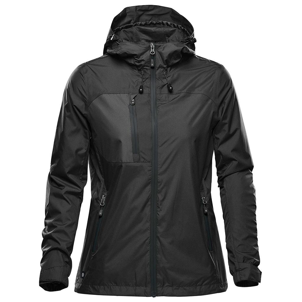 Stormtech Womens/Ladies Olympia Soft Shell Jacket (XL) (Black)