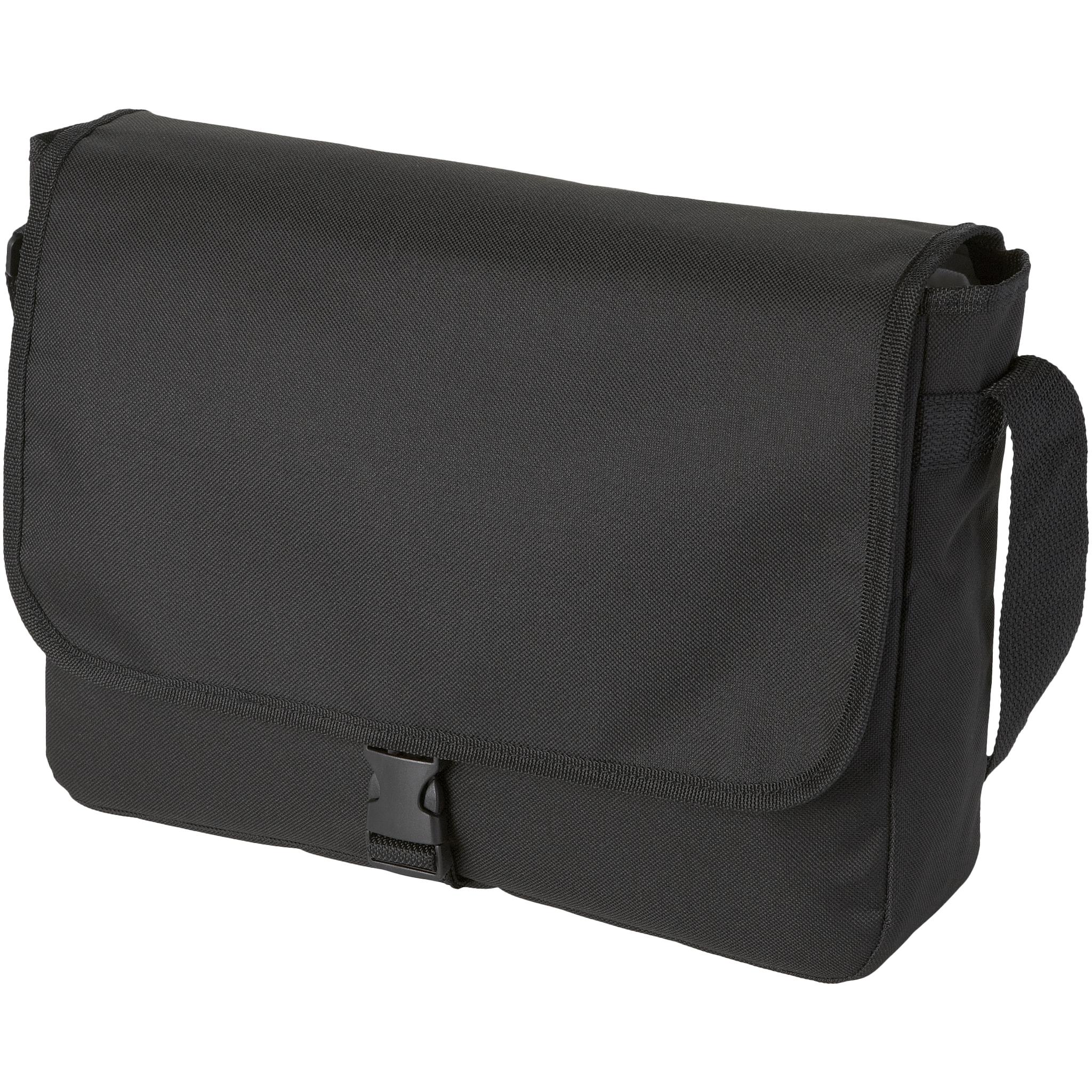 Bullet Omaha Shoulder Bag (34 x 8.5 x 25cm) (Solid Black)
