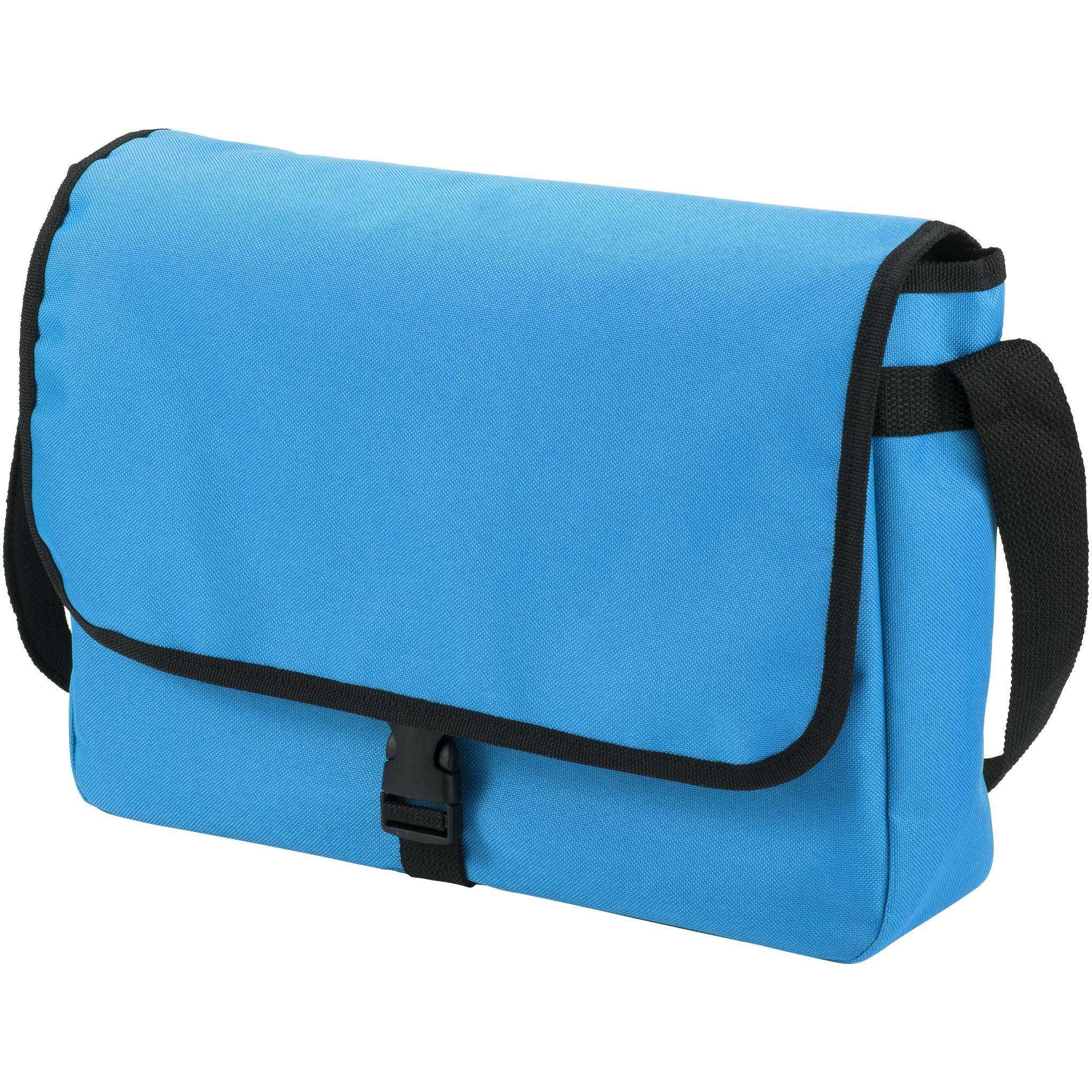 Bullet Omaha Shoulder Bag (34 x 8.5 x 25cm) (Aqua Blue)