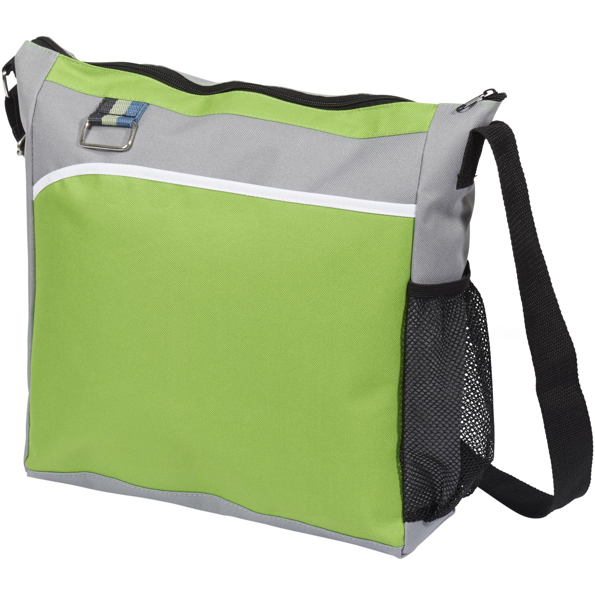 Bullet Kalmar Shoulder Bag (33 x 10 x 35.5 cm) (Lime)