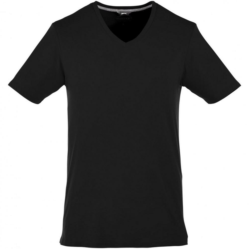 Slazenger Mens Bosey Short Sleeve T-Shirt (L) (Solid Black)