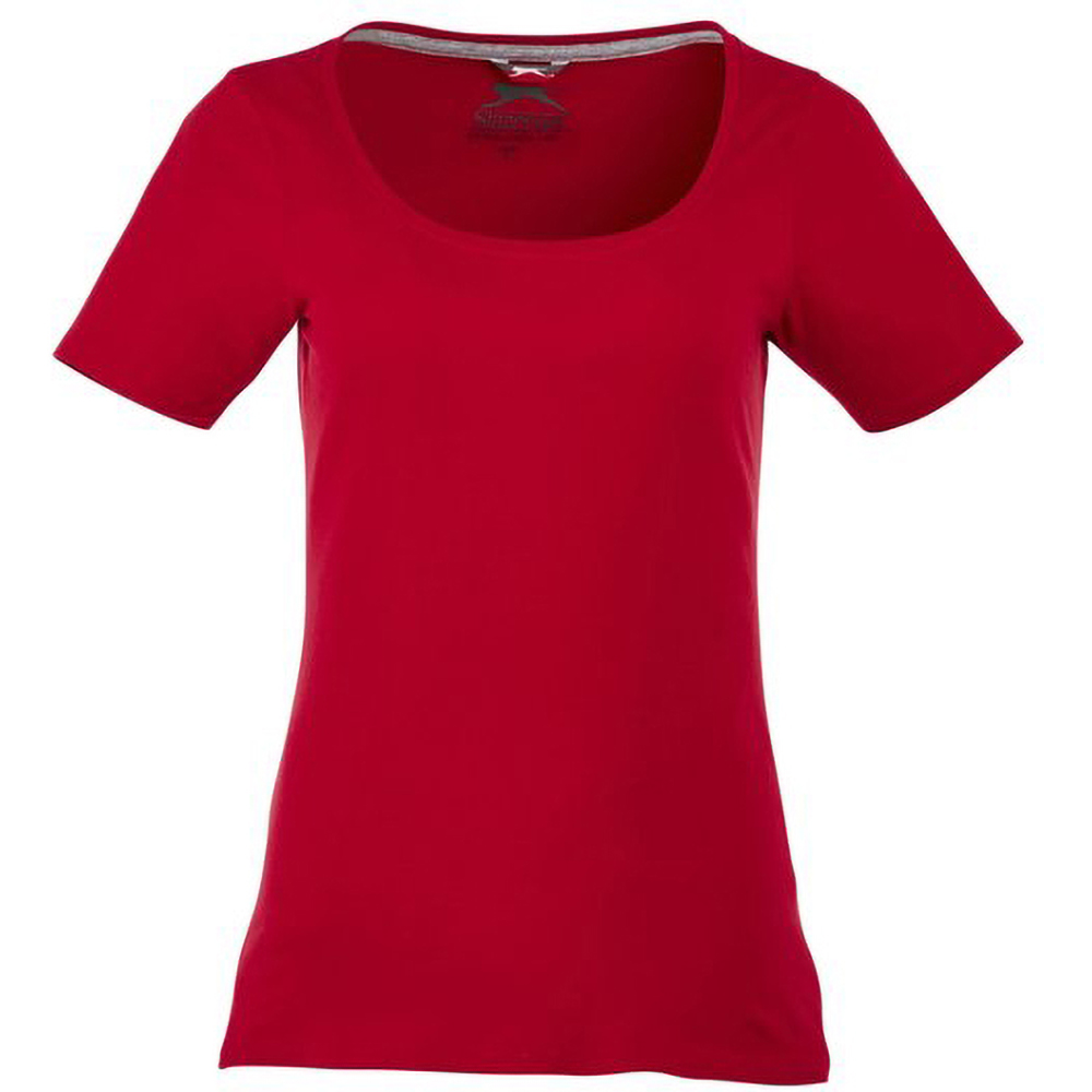 Slazenger Bosey Short Sleeve Ladies T-Shirt (XXL) (Dark Red)