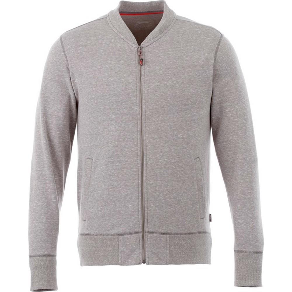 Slazenger Mens Stony Track Jacket (XS) (Grey Melange)