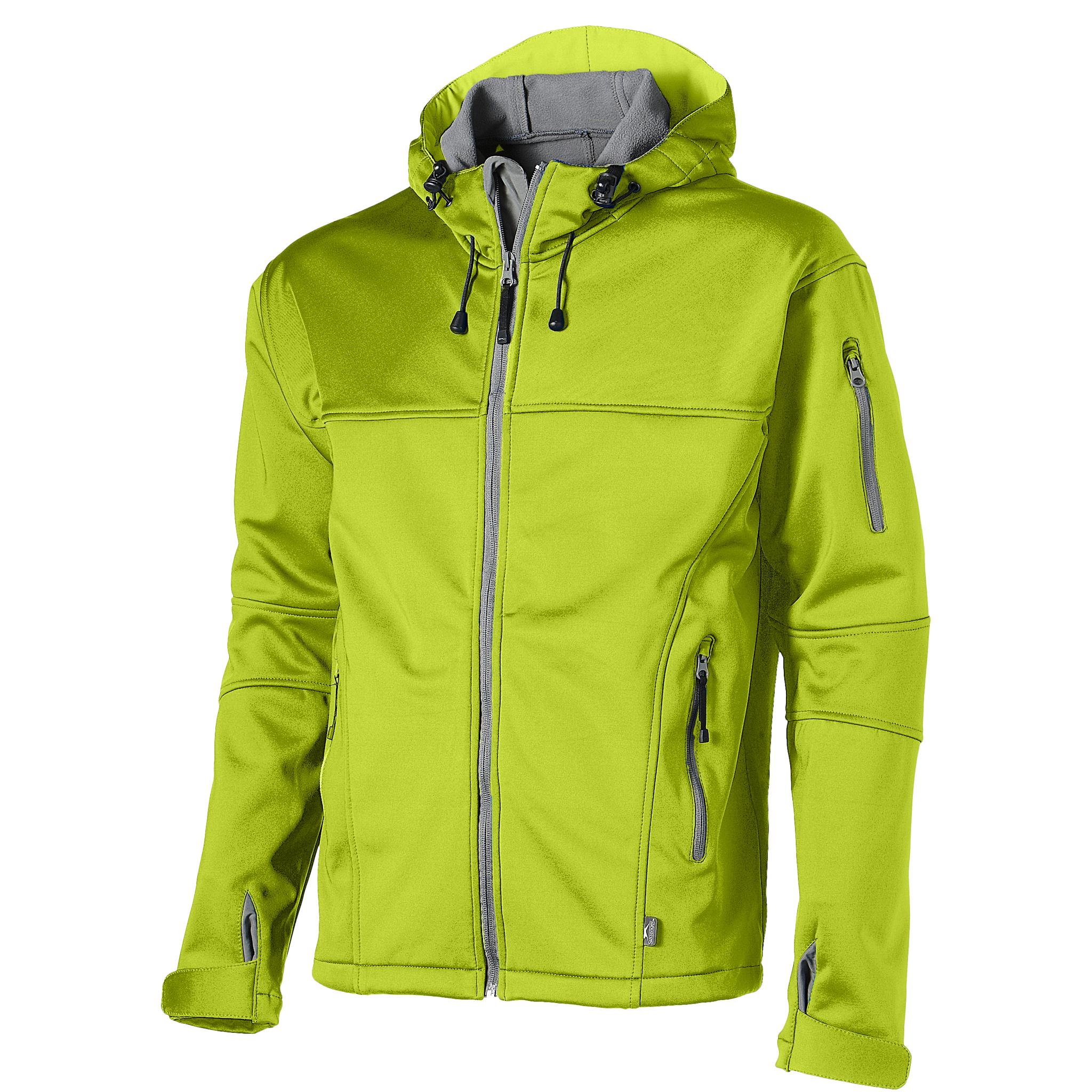 Slazenger Mens Match Softshell Jacket (XXXL) (Mid Green)