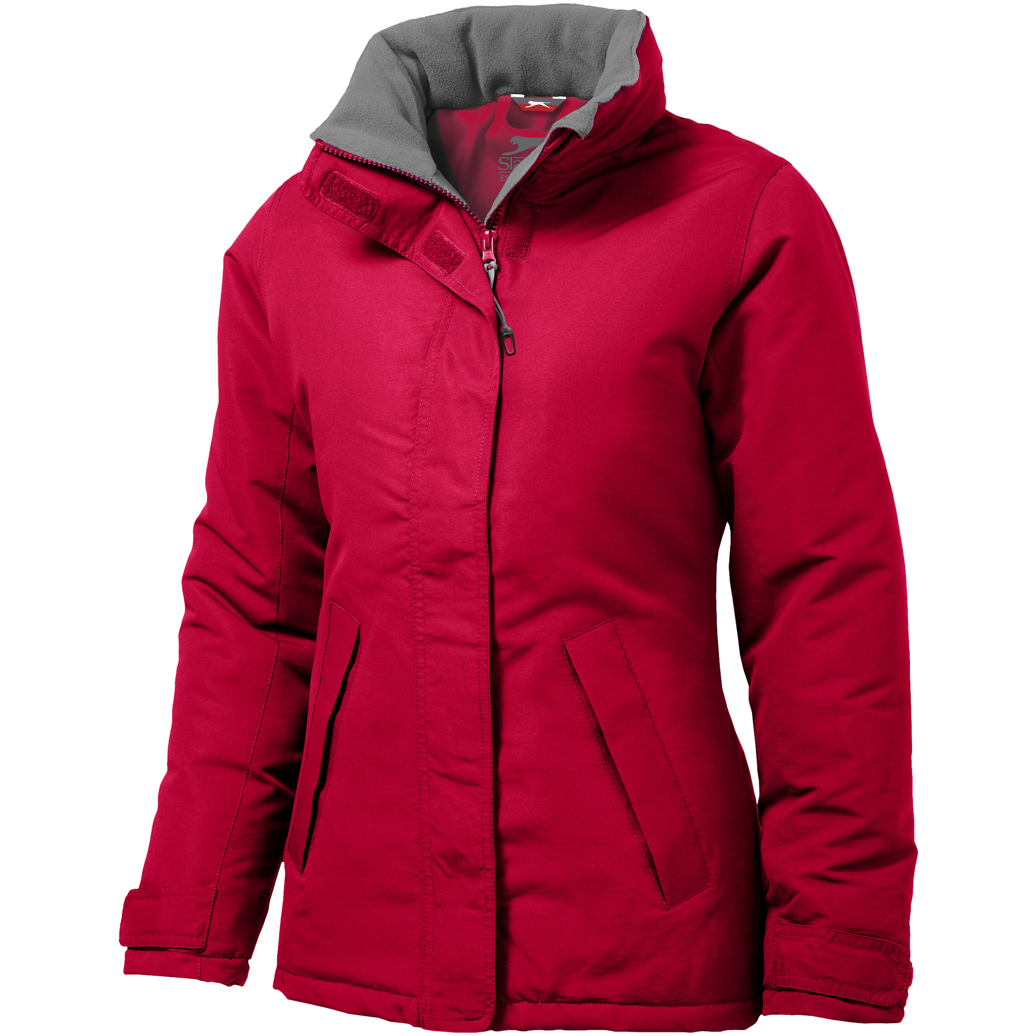 Slazenger Womens/Ladies Under Spin Insulated Jacket (XL) (Red)
