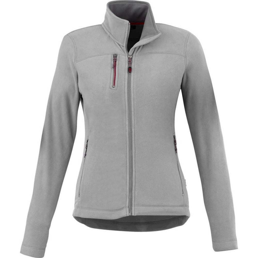 Slazenger Pitch Microfleece Womens/Ladies Fleece Jacket (XL) (Grey)