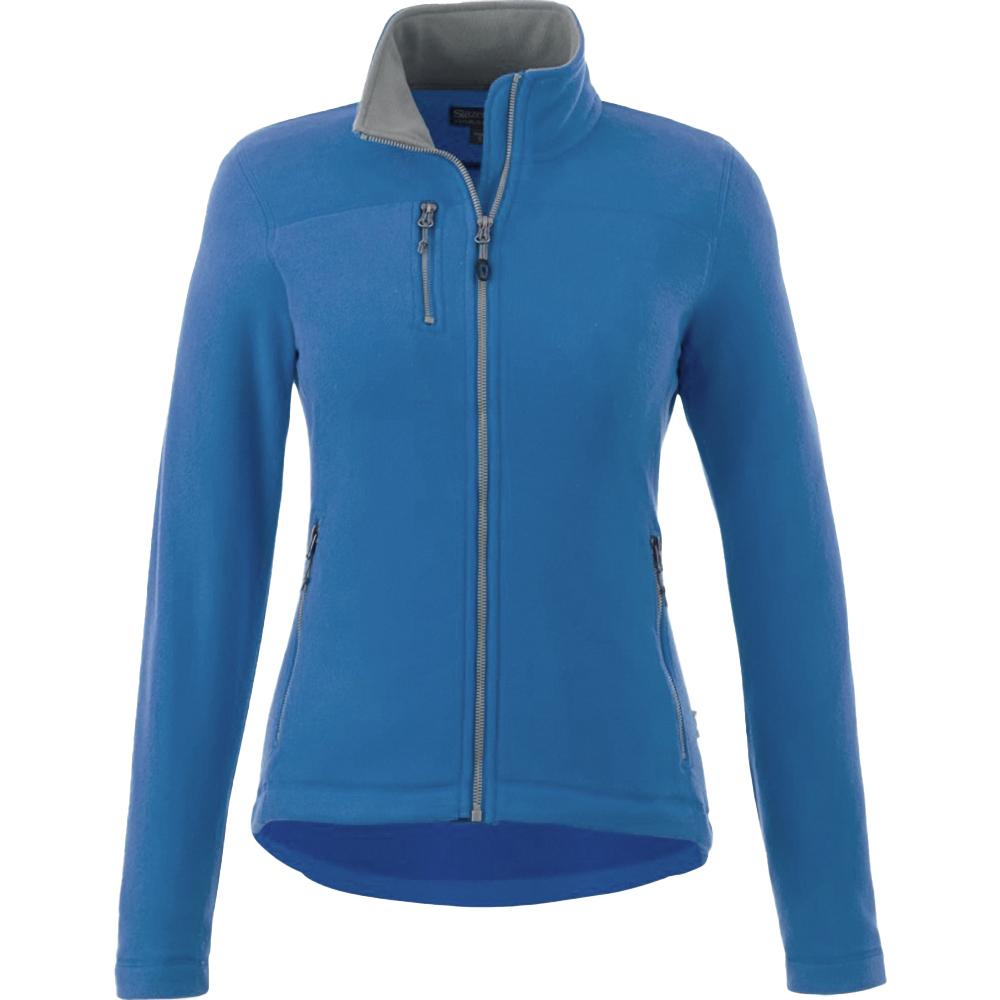 Slazenger Pitch Microfleece Womens/Ladies Fleece Jacket (S) (Sky Blue)