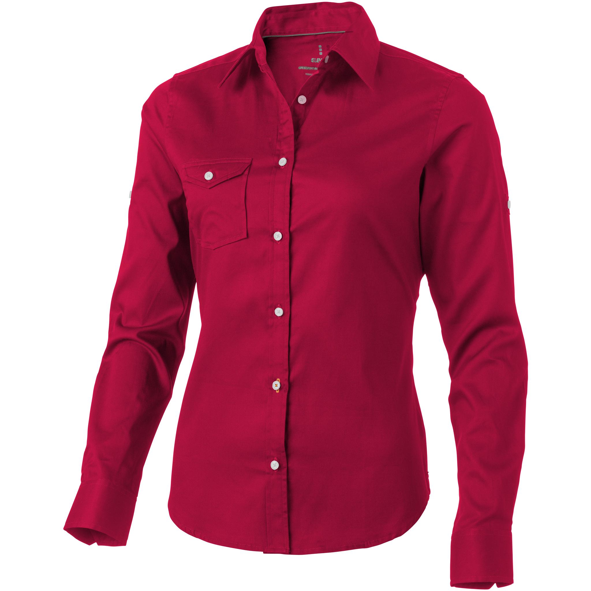 Elevate-Womens-Ladies-Nunavut-Long-Sleeve-Shirt-PF1840
