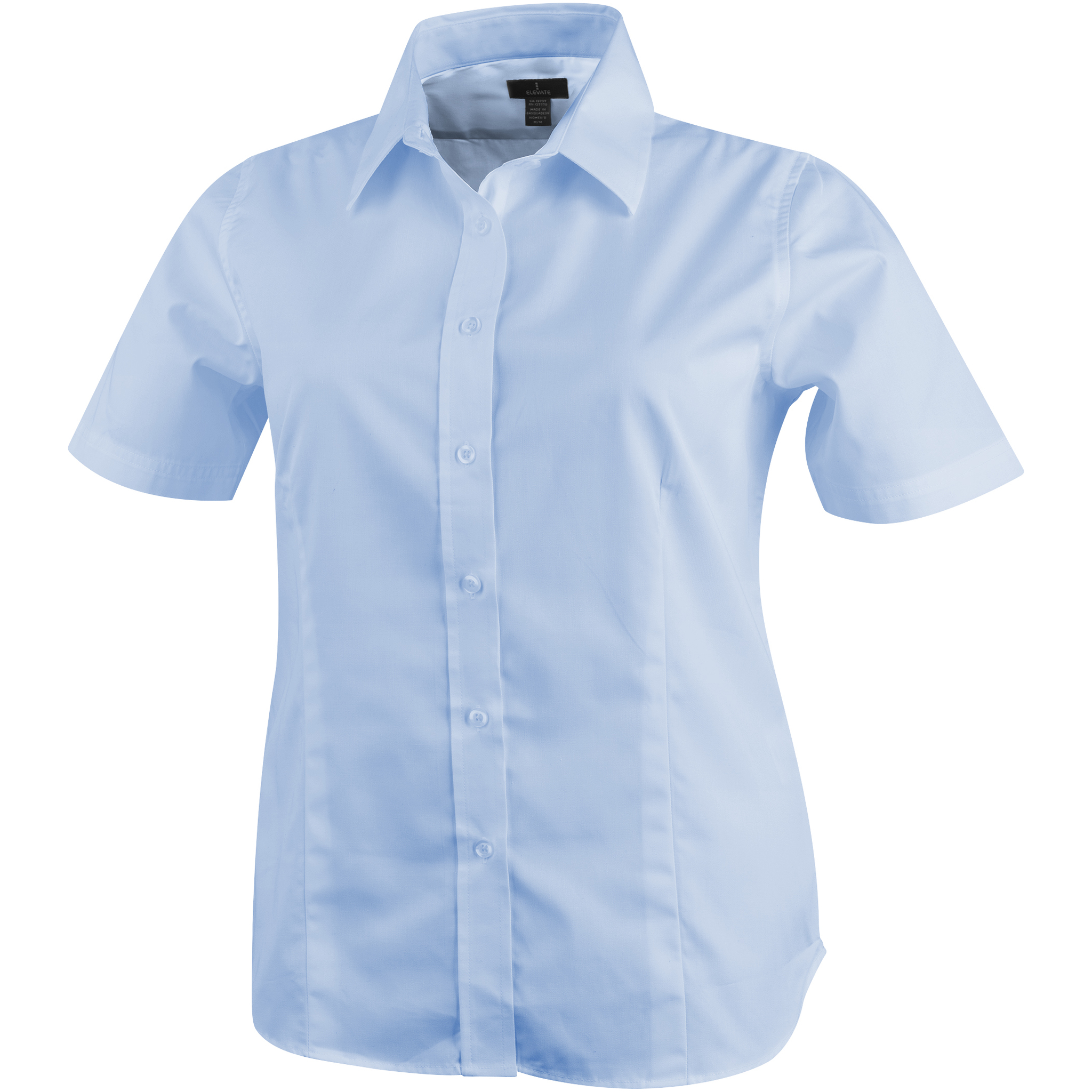 Elevate-Womens-Ladies-Stirling-Short-Sleeve-Shirt-PF1844