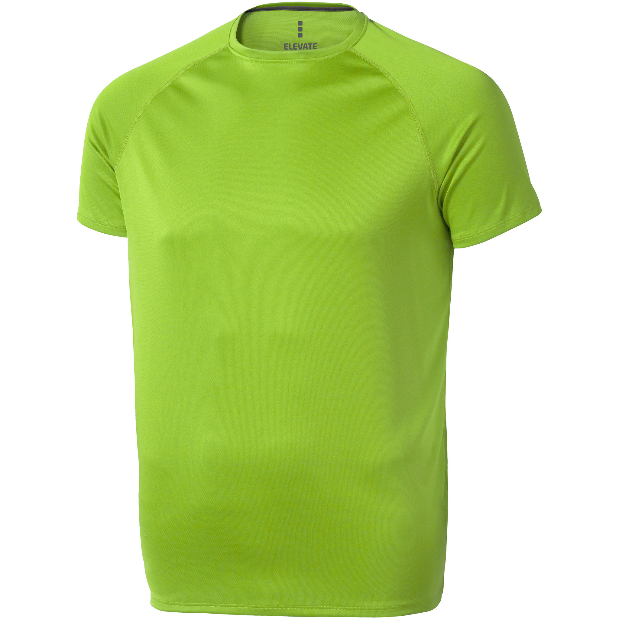 Elevate Mens Niagara Short Sleeve T-Shirt (M) (Apple Green)
