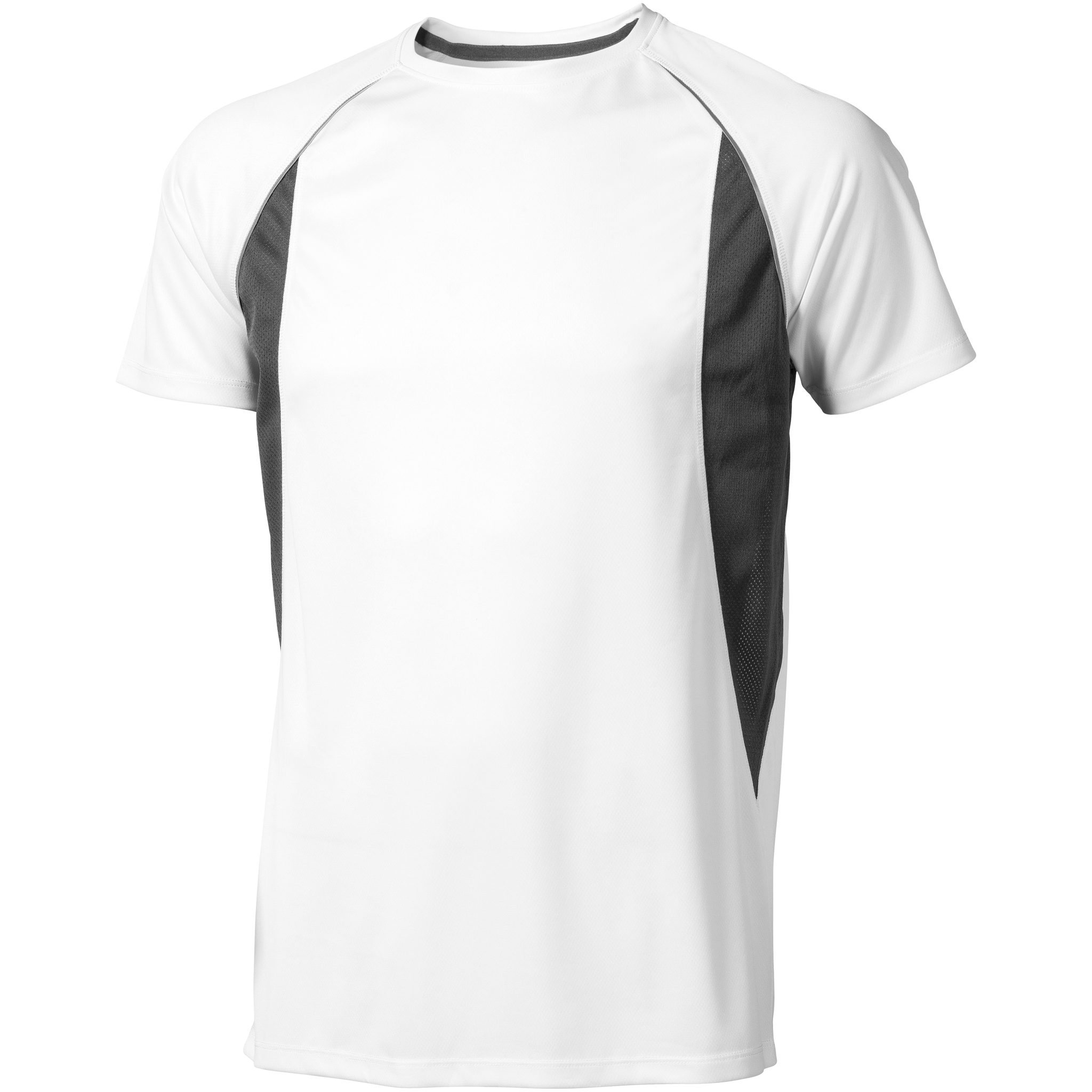 Elevate Mens Quebec Short Sleeve T-Shirt (XXXL) (White/Anthracite)