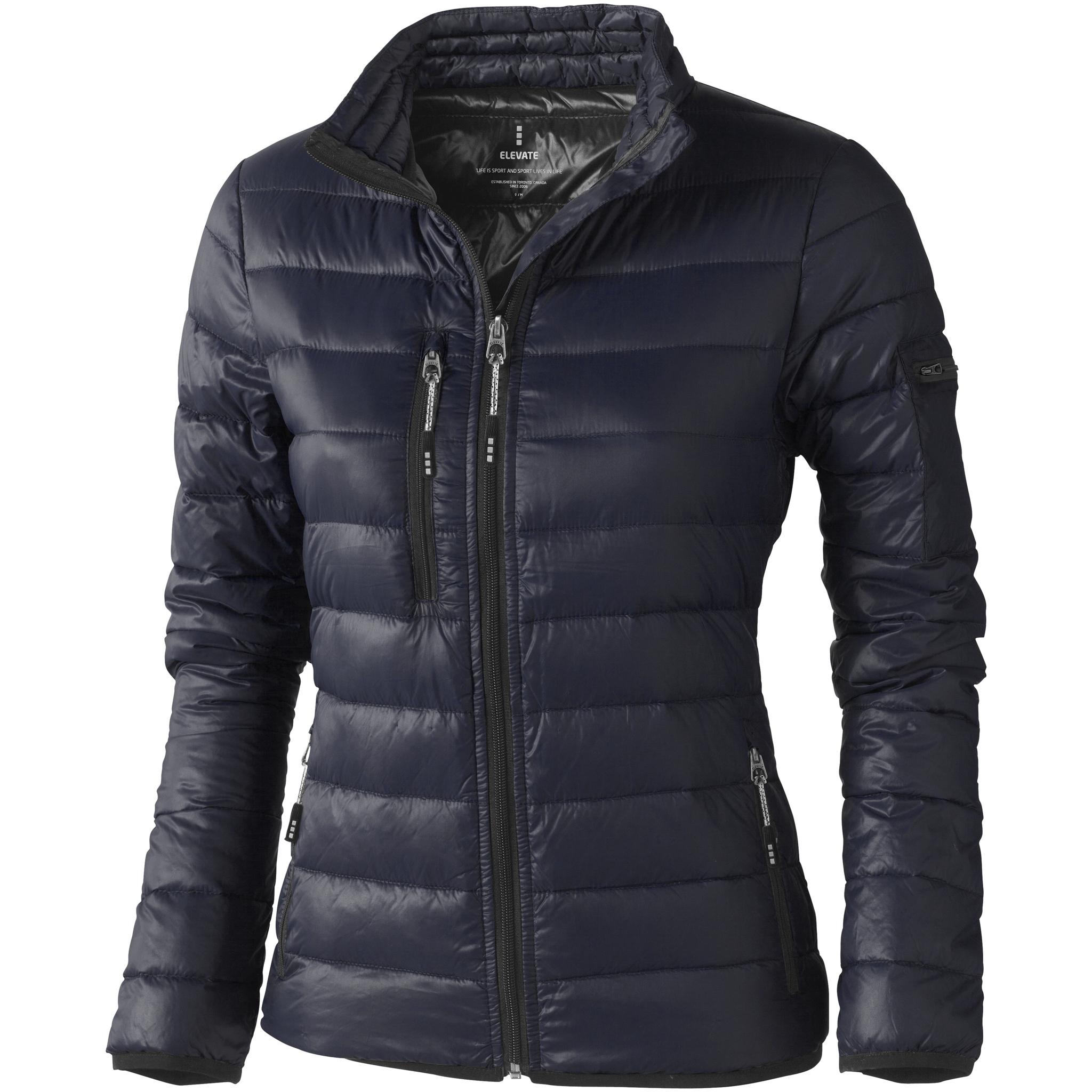 Elevate Womens/Ladies Scotia Light Down Jacket (XL) (Navy)