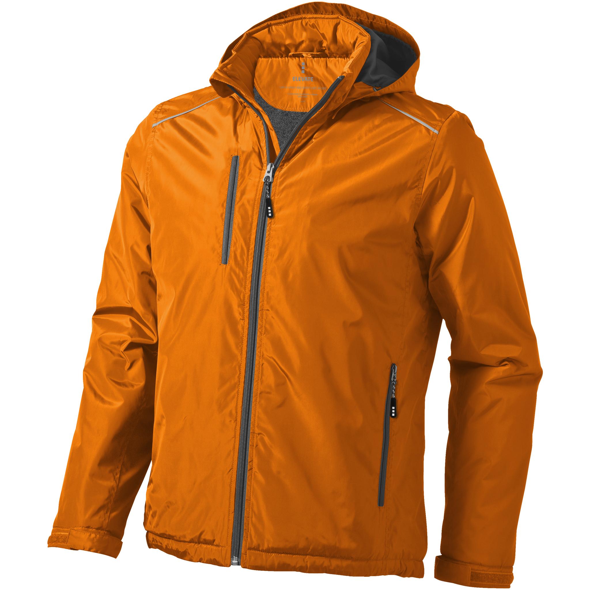 Elevate Mens Smithers Fleece Lined Jacket (XXL) (Orange)