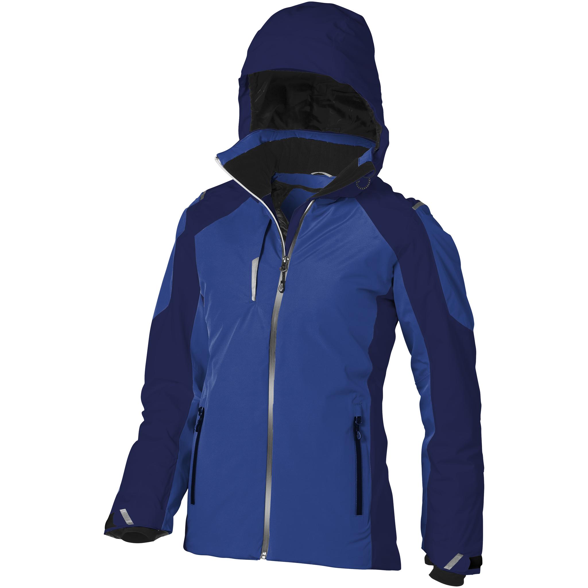 Elevate Womens/Ladies Ozark Insulated Jacket (L) (Blue/Navy)