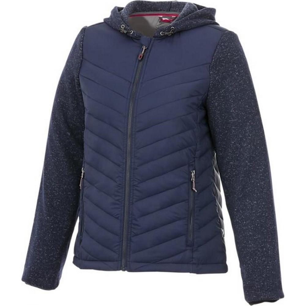 Slazenger Womens/Ladies Hutch Hybrid Insulated Jacket (XL) (Navy)