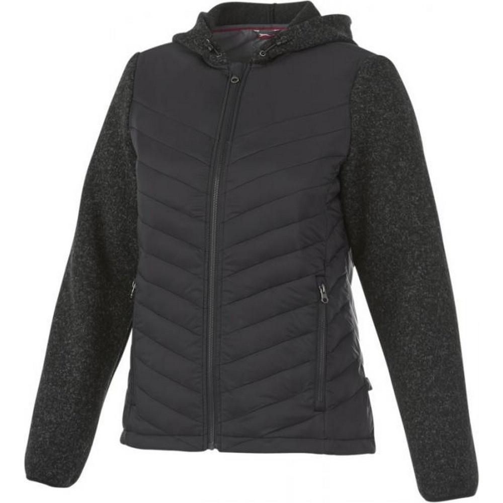 Slazenger Womens/Ladies Hutch Hybrid Insulated Jacket (XL) (Heather Smoke)