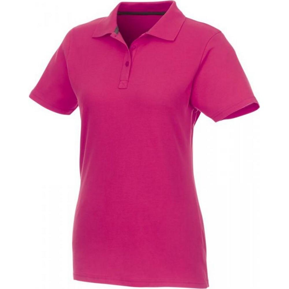 Elevate Womens/Ladies Helios Short Sleeve Polo Shirt (XS) (Magenta)