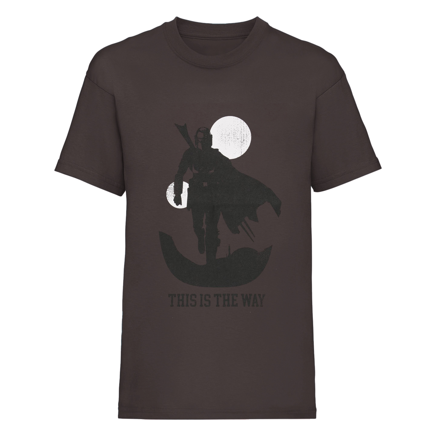 Star Wars: The Mandalorian Mens This Is The Way T-Shirt (M) (Charcoal)