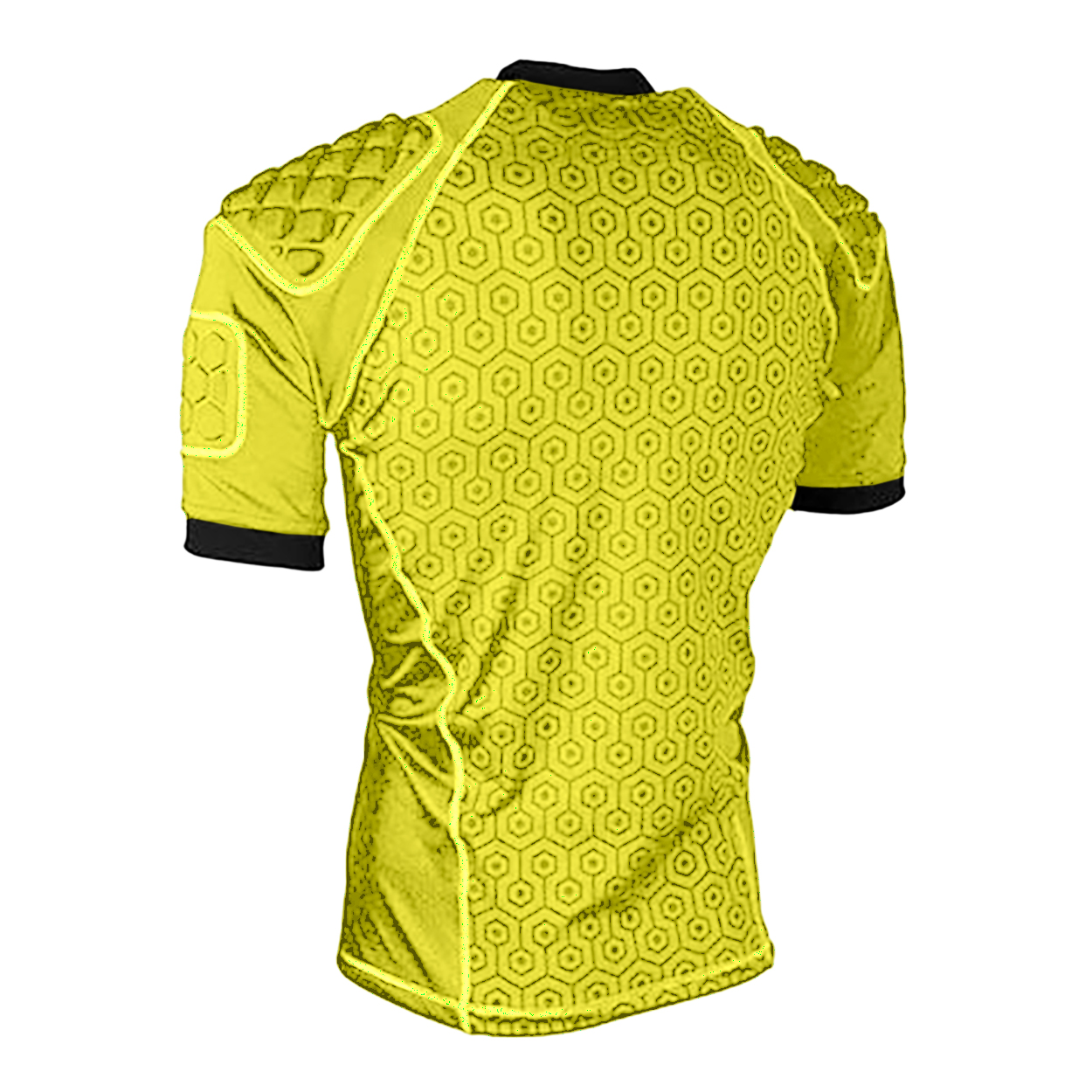 Rhino Unisex Adult Pro Body Protection Top (L) (Yellow)